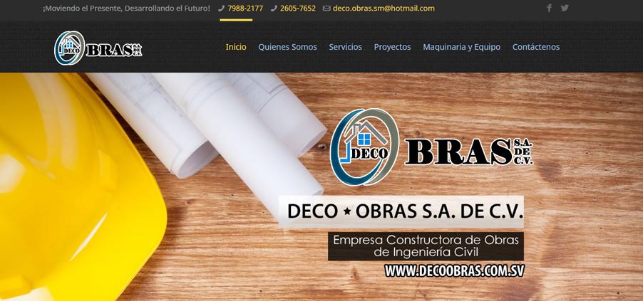 Deco Obras SA de CV